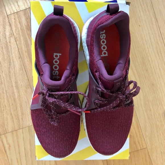 1efb901db adidas Shoes - ADIDAS Pure Boost Maroon US Size 7.0 Sneakers EUC
